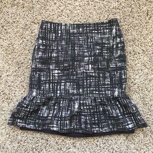 Ann Taylor Cotton Skirt size 6!